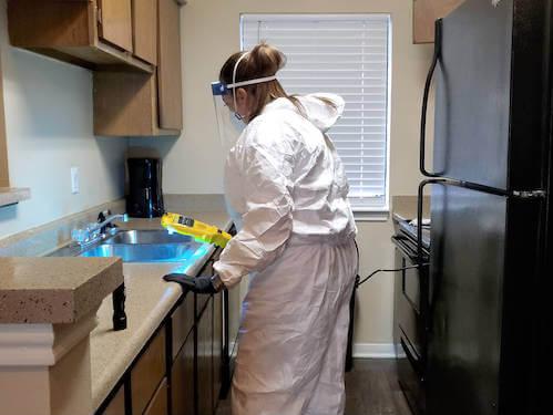 Trauma Cleaning
