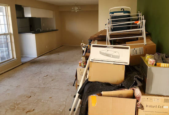 Hoarder Cleaning Service